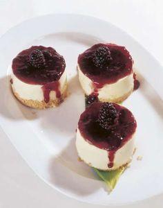 Sorprende a tus invitados con estos mini pasteles de queso