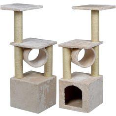 Top level Popular 36'' Cat Tree Toy House Furniture Kitten Pet Color Beige   - Cat Tree
