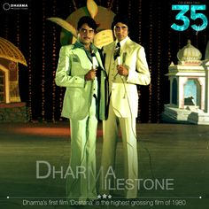 Dostana broke box-office records and became a cult of its time.  #DharmaMilestone #35YearsOfDharma