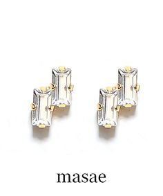 【masae】別注geometry #シータ・ミュー Cufflinks, Stud Earrings, Accessories, Jewelry, Fashion, Moda, Jewlery, Jewerly, Fashion Styles