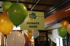Have A Donation Station At Your Event! St Baldricks, Event Ideas, Fundraising, Foundation, Kitchen, Cooking, Kitchens, Foundation Series, Cuisine