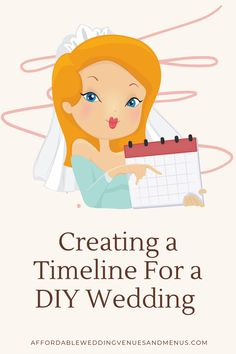 Planning DIY on the day of your wedding? If you create a day of wedding timeline, it'll be easier to stay on track. Find out how to create your day of wedding timeline. And what to include on your wedding day checklist. Once your timeline is ready, you can share it with everyone: your bridesmaids, groomsmen, parents, helpers, coordinators and vendors. Schedule your DIY bouquets, centerpieces, ceremony and reception decor. Wedding Reception On A Budget, Inexpensive Wedding Venues, On Your Wedding Day, Diy Wedding, Wedding Ceremony, Diy Bouquet, Bouquets, Create A Timeline, Wedding Day Checklist