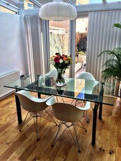 Charles Eames and Corbusier LC6 dinning table