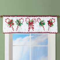 Products · Candy Cane Christmas Curtain Valance · GG DECOR's Store Admin
