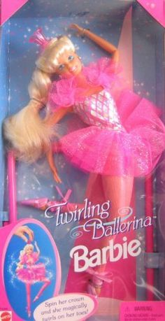 Barbie Twirling Ballerina Doll by Mattel, http://www.amazon.com/dp/B0007M4UL6/ref=cm_sw_r_pi_dp_IbgErb1Z8CGRT