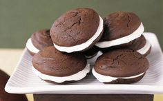 If you go to this site, theres a link to several whoopie pie recipes...I'm making the red velvet ones first!