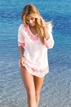 Embroidered Woven Cover-Up from the Next UK