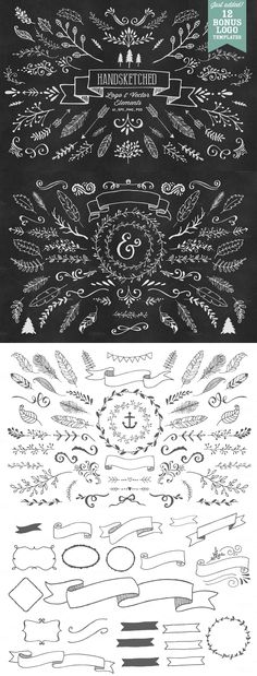 This is just 1 of the 33 sets of designs in the Ultimate Vector Elements…