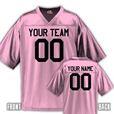 da2deba850e Custom Football Jersey for Youth and Adult You Design Online with Your  Names and Numbers:Amazon:Clothing