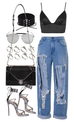 """""""Untitled #2231"""" by mariie00h ❤ liked on Polyvore featuring Topshop and ASOS"""