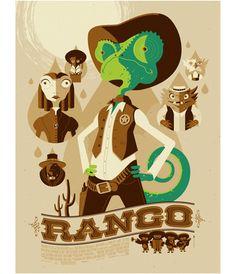 Rango by Tom Whalen