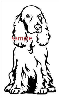 Looking for your next project? You're going to love Cocker Spaniel Cross Stitch Chart by designer mikejue676292516.
