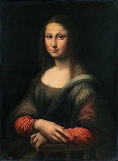 Prado Mona Lisa, before restoration - Spain
