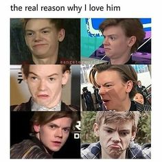 """3,228 Likes, 24 Comments - Thomas Brodie Sangster (@onlysangster) on Instagram: """"I love him so much ❤ _…"""""""