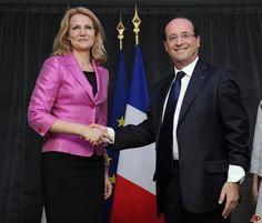 Francois Hollande (France) & Helle Thorning-Schmidt (Denmark)