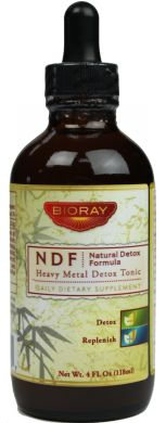 NDF® (Heavy Metal & Chemical Detoxifier) safely removes toxic heavy metals, chemicals, pesticides and BPA while balancing nutrient and mineral levels.