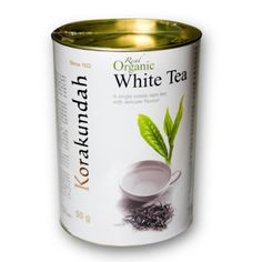 A rarity from Nilgiris-Korakundah White Tea is a speciality  white tea from Ooty's tea plantations.