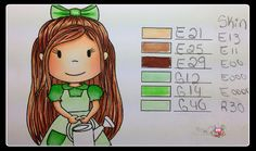 Where I Create!: Favorite Copic Colors #1