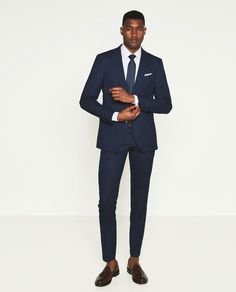 BIRDSEYE SUIT-SUITS-MAN | ZARA United States