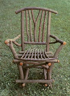 Maine Bowback Twig Chair By Mainerockguy On Etsy 280 00 Lawn Chairs In 2019 Pinterest Furniture Willow And