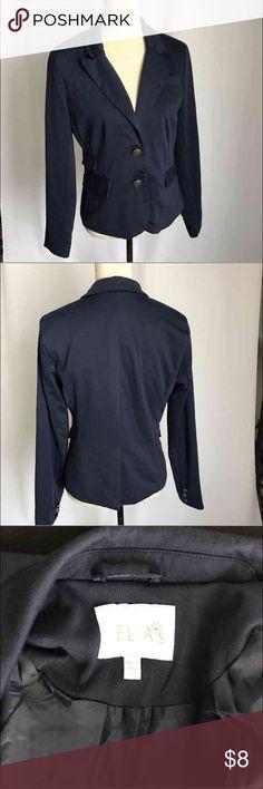 Delia's suit Blazer jacket blue color sz L Long sleeve career Blazer . Color is rich delia's Jackets & Coats Blazers