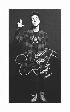 #mino   #winner  #yg family   I just love the way of thinking he did to make this signature ♡