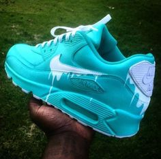 Nike Air Max 90 Candy Drip Womens Trainers In Green White Cute Sneakers, Sneakers Mode, Sneakers Fashion, Fashion Outfits, Jordan Shoes Girls, Girls Shoes, Nike Air Shoes, Baskets Nike, Hype Shoes