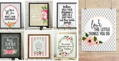 BOGO Lovely Mother's Day Prints QUICK SHIP!