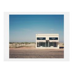 Catherine McDonald Irony in West Texas Art Print | DENY Designs Home Accessories