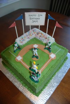 baseball cakes pinterest | Cake Creations by Trish: Baseball diamond cake View Image View Page