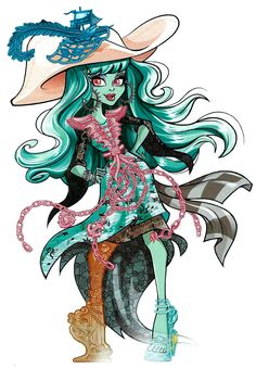 Monster High: Vandala Doubloons! Vandala Doubloons is a student at Haunted High. She is the daughter of a ghost pirate, and aspires to become a great adventurer and explorer.