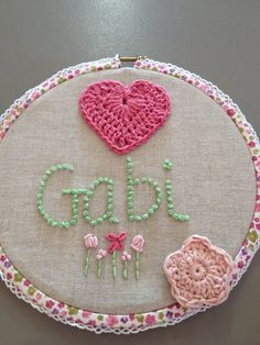 Think Kids — Embroidered name plaques