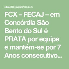 FCX – FECAJ – em Concórdia São Bento do Sul é PRATA por equipe e mantém-se por 7 Anos consecutivos entre dos dois melhores de Santa Catarina! | Xadrez Educa – Eduardo Quintana Sperb