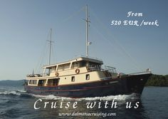 """www.dalmatiacruising.com M/Y """"LEONARDO""""  is inviting you for an unforgettable cruise among the Croatian islands , the best option to visit the beauty of Croatia."""