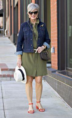 40 модных образов предстоящей осени для женщин элегантного возраста • ladyline.me