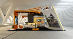Projeto 3D - Stand Funkier - Arquitetura Promocional
