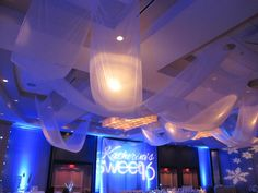 2013 Mitzvah & Party Trends - Decorative Ceiling by Vision Entertainment - mazelmoments.com
