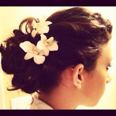 My hair for prom {: