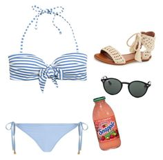 """""""Swim suit collection #5"""" by rikey-byrnes on Polyvore featuring H&M, Dorothy Perkins, Joie and Ray-Ban"""