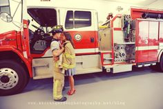 firefighter engagement/ mine will be with a police officer. Can't wait to marry Tom :)