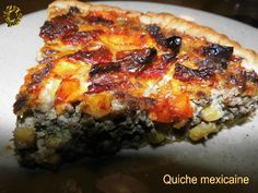 Quiche mexicaine