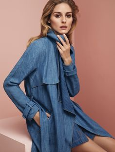As MAX&Co.'s International Style Ambassador, we had to share a look at the first image released for their newest campaign featuring Olivia wearing an ensemble made up of their many versatile se...