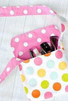 Mini Messenger Bag Sewing Tutorial