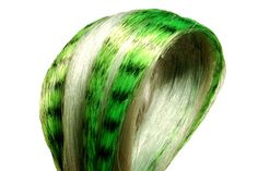 Green Hair Feathers and Mint Highlight Hair Extensions....... GORGEOUS!! Perfect for Spring & St.Patrick's Day.