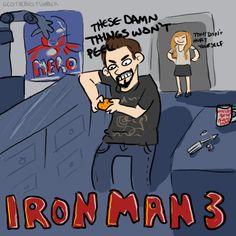 Iron Man 3: Tony vs. the Mandarin