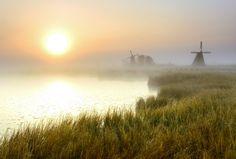"""500px / Photo """"Qixing Lake prairie sunrise"""" by XiaoJia Jin"""