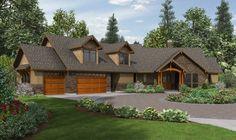 Lodge-like Craftsman With Huge Bonus Room - 69585AM   1st Floor Master Suite, Bonus Room, Butler Walk-in Pantry, CAD Available, Craftsman, Den-Office-Library-Study, Mountain, Northwest, PDF   Architectural Designs