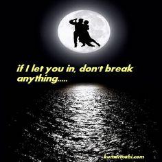 don't break...