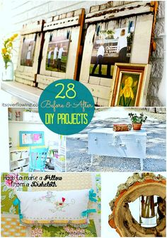Great Ideas  28 Before  After Projects!!