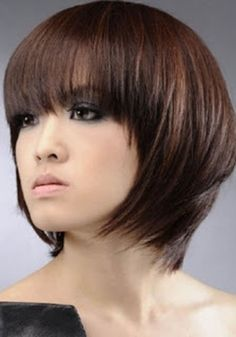 33 Lovely Short Bob Hairstyles with Bangs - Cool & Trendy Short Hairstyles 2014